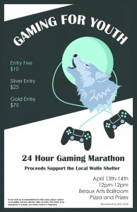 Gaming for Youth 24 Hour Gaming Marathon