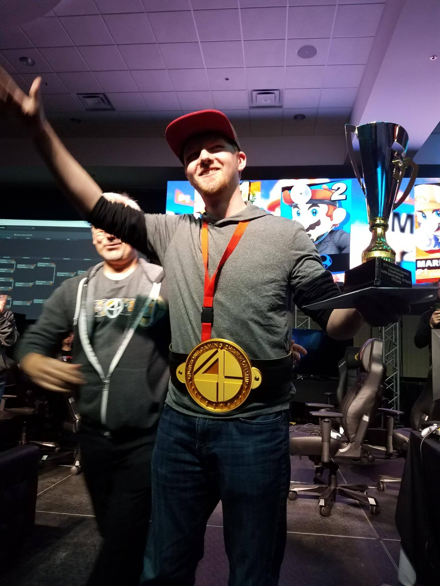 Madden NFL 20 1st place goes to Emery Skinaway of Red Lake and 2nd place goes to Brandon Miller of Brainerd at #GZGC19